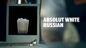 white russian cocktail how to make an absolut white russian cocktail recipe youtube