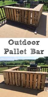 best 25 outdoor pallet bar ideas on pinterest outdoor pallet
