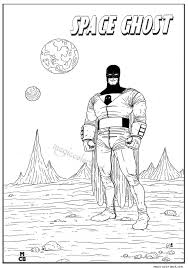 space ghost coloring pages 02