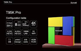 pro android sunvell t95k pro android 7 1 tv box us 59 18 shopping