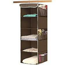 amazon com hanging closet organizer maidmax collapsible hanging