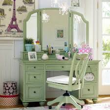 Vanity Desk Refinished Vanity Table And Chair Set Bedroom Pinterest