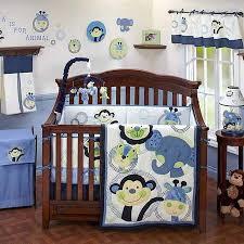 Safari Themed Nursery Decor Jungle Animals Baby Boy Room Attractive Nursery Decor Ideas With