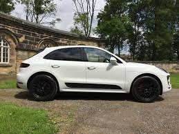 porsche macan 2013 used 2017 porsche macan gts pdk for sale in west yorkshire