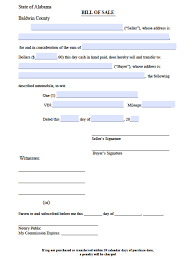 Alabama Power Of Attorney by Free Jackson County Alabama Bill Of Sale Form Pdf Word Doc