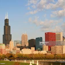 willis tower chicago chicago skyline lakefront willis tower chicago stock photo getty