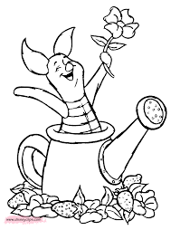 piglet printable coloring pages disney coloring book