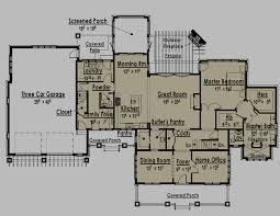 excellent ranch style house plans with two master suites