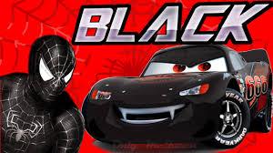 evil lightning mcqueen u0026 black spiderman disney cars battle