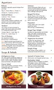 bengal tiger restaurant menu design on behance