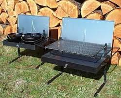 dutch oven cooking table large firepan 18 x 30 x 4 fire pans smokers fire pans