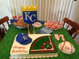 kc royals birthday cake decorated cakes pinterest birthday