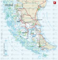 Patagonia Map How To Get To Puerto Natales Patagonia