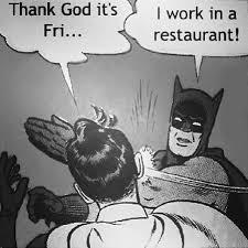 Funny Restaurant Memes - xd yo lllllllllmmmmfffffffaaaaaaaaooooooo batman r flickr