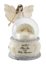 baptism snow globes pavilion gift company 82345 elements holy baptism