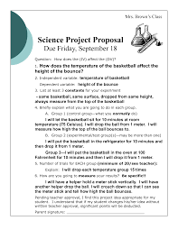 Bad Examples Of Resumes by Bad U201d Proposal Example Science Project Proposal