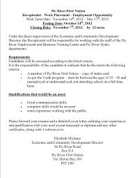 resume for gym receptionist resume ideas