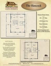 Log Home Floor Plans With Basement Premier Log Home Series