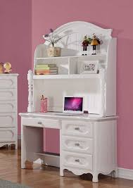 White Desk And Hutch by Homelegance Hayley Writing Desk Hutch White 2007 14