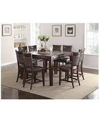 9 piece dining table set great deals on audrey counter height table and chairs 9 piece