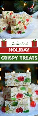 jeweled krispy treats wonkywonderful