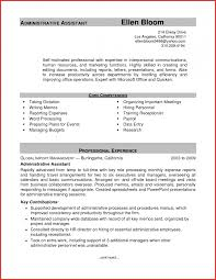 administrative resume template awesome administrative resume templates word personal leave