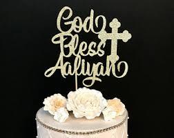 baptism cake toppers baptism cake topper etsy