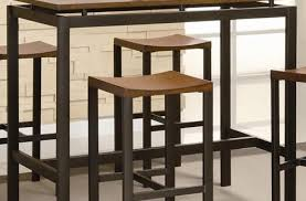 Kitchen Bar Table And Stools Narrow Counter Height Stools Miketechguy