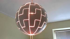 Ikea Light Fixtures by The Ikea Ps 2014 Lamp Death Star Wanna Be Lamp Youtube