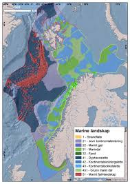 Marin Map Mareano The Sea In Maps And Pictures