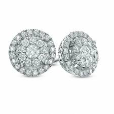 diamond earring studs view all earrings earrings zales