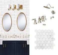 jack and jill bathroom plans navy and marble bathroom design plan maison de pax