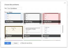 langkah membuat google form membuat form pendaftaran online dengan google form kantorkita net