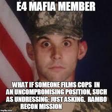 Meme Generator Custom - e4 mafia 1033 plate confiscated from police meme generator