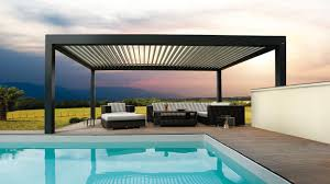 Pergola Shade Covers by Biossun Bioclimatic Pergolas And Terrace Covers Residential