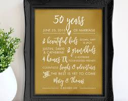 Engagement Gift From Parents 50th Anniversary Gift For Parents 50th Golden Anniversary