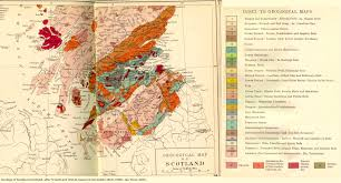 Map Of England And Scotland by Geology Of Great Britain Introduction And Maps By Ian West