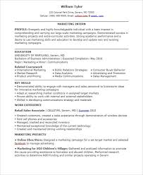 marketing skills resume 30 professional marketing resume templates pdf doc free
