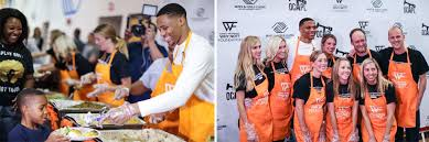 thanksgiving volunteer opportunities toronto westbrook provides a thanksgiving treat oklahoma city thunder