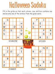halloween sudoku puzzle