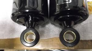 progressive suspension black 412 series xl sportster shocks harley