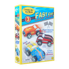 creativity for kids fast car race cars arts and craft kit 1pcs