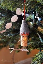 bird wine cork ornaments whats ur home story