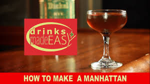 manhattan drink how to make a manhattan cocktail with george dickel rye whisky