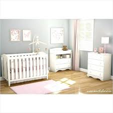 Convertible Crib Nursery Sets Fashionable White Crib With Drawers Furniture 2 Set Convertible