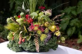 edible floral arrangements fall wedding trends trillium s courtyard florist
