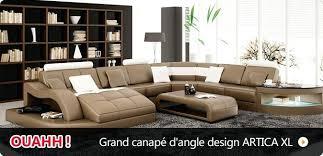 canapé discount pas cher canape discount cuir grand canapac dangle design artica xl canape