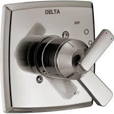 delta ashlyn 1 handle valve trim kit in stainless valve not