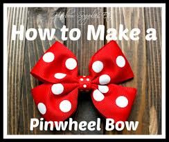hairbow supplies how to make a pinwheel hair bow hairbow supplies etc diy