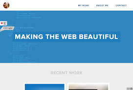 Best Sites To Post Resume by Personal Categorized Website Design Inspiration And Modern Css